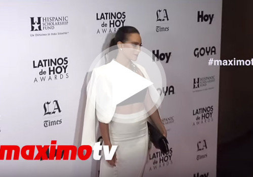 Latinos de Hoy Awards 2015 Red Carpet